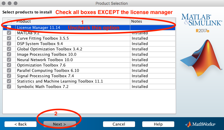 Installing research level MatLab on user's machines | OCTET